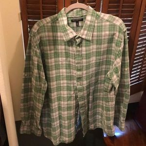 Linen Banana Republic button down- XXL
